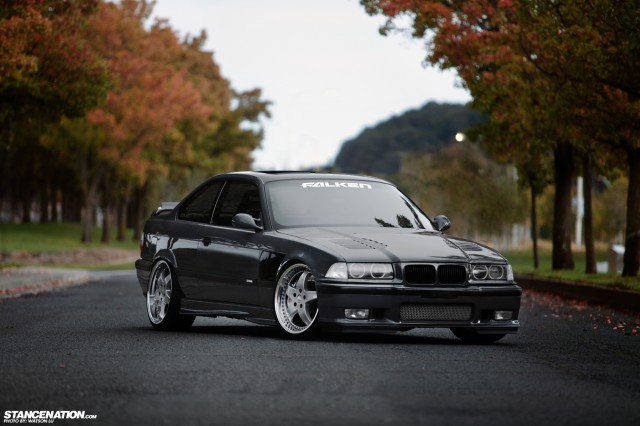 Stanced Flush BMW 3 Series (6)