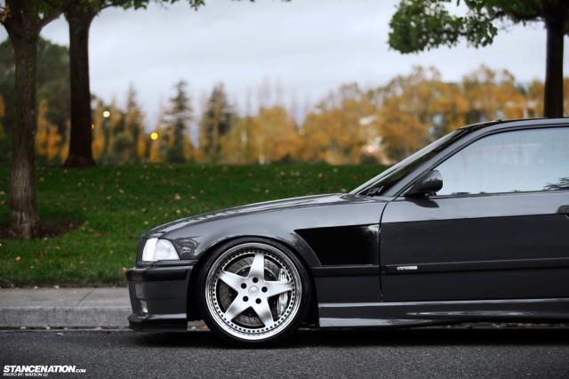 Stanced Flush BMW 3 Series (5)