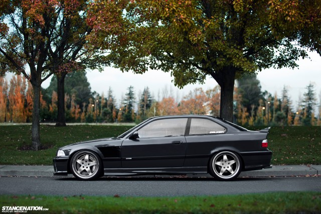 Stanced Flush BMW 3 Series (3)