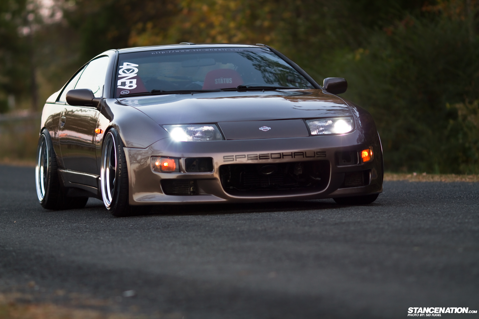 form function steven 39 s stunning nissan 300zx stancenation form function. Black Bedroom Furniture Sets. Home Design Ideas
