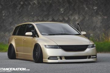 Stance VIP Style Honda Odyssey Japan (1)
