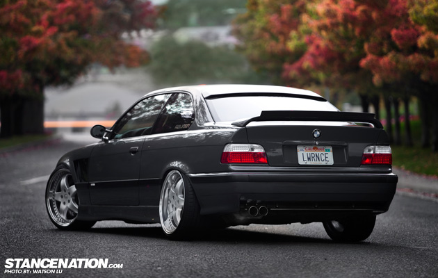 Stanced Flush BMW 3 Series (1)