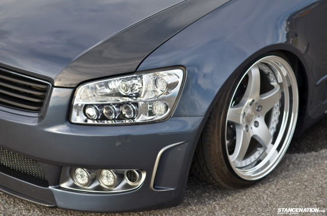 Slammed & Fitted Nissan Stagea M35 (3)