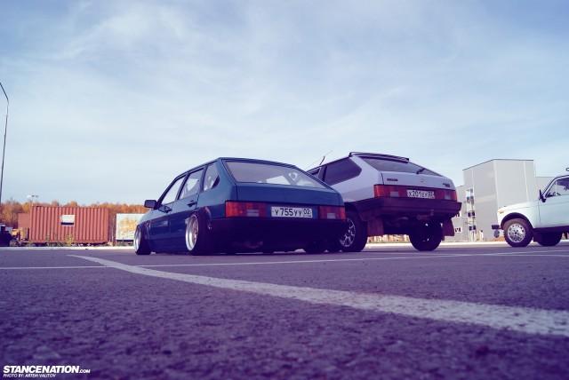 Stanced Russian Lada Samara (9)