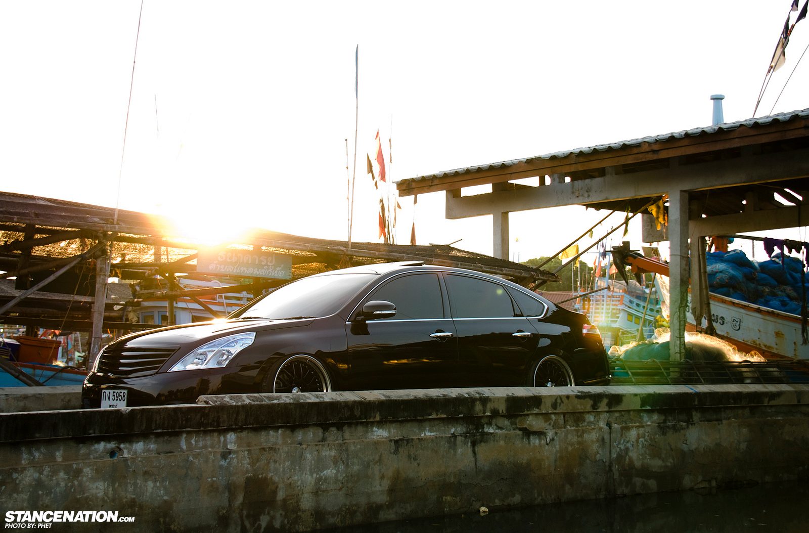 Clean Big Body Phets Nissan Teana Stancenation Form Wiring Diagram Slammed Thailand Vip 7