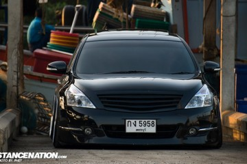Slammed Nissan Teana Thailand VIP (1)