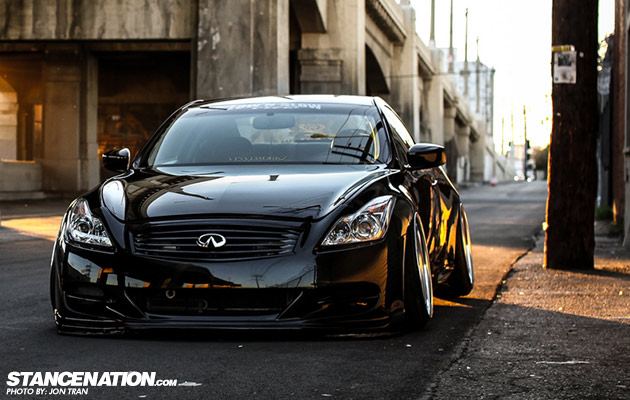 Stanced & Slammed Low N Slow Infiniti G37 Coupe (16)
