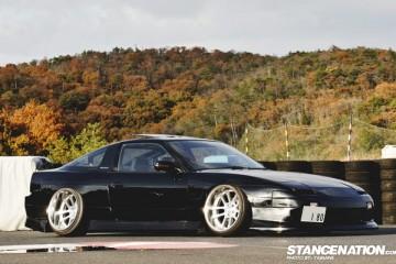 Slammed Drift Style Nissan 180SX Japan (2)