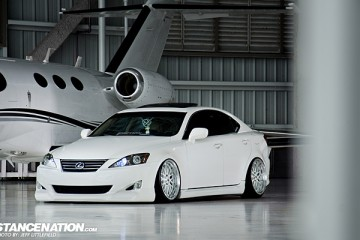 Slammed Lexus IS Aggressive Fitment (1)