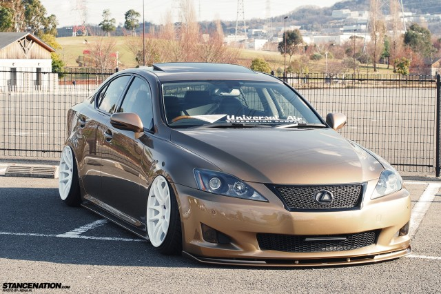 Slammed & Fitted Lexus IS from Japan (13)