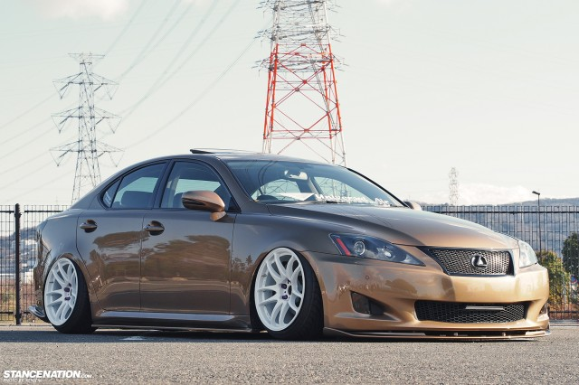 Slammed & Fitted Lexus IS from Japan (12)