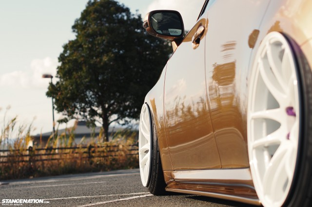 Slammed &amp; Fitted Lexus IS from Japan (10)