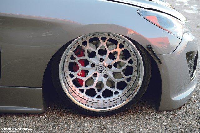 Flush Stanced Hyundai Genesis Coupe (13)