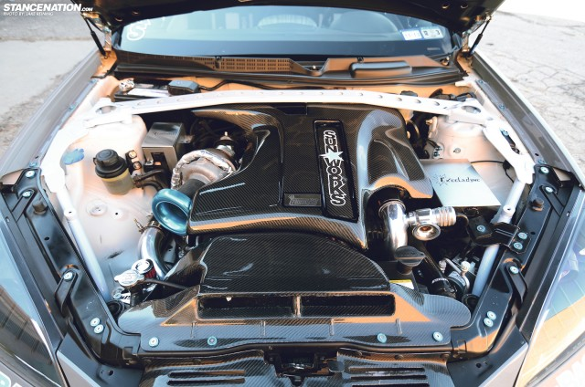 Flush Stanced Hyundai Genesis Coupe (11)