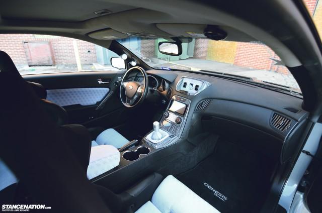 Flush Stanced Hyundai Genesis Coupe (7)