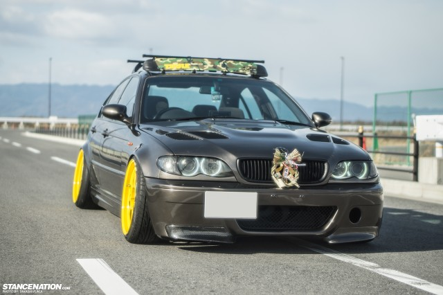 Slammed & Stanced Cars From Japan (38)