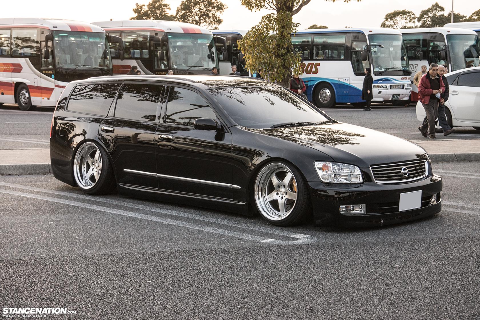 Random Sighting Nissan Stagea X Japan Stancenation