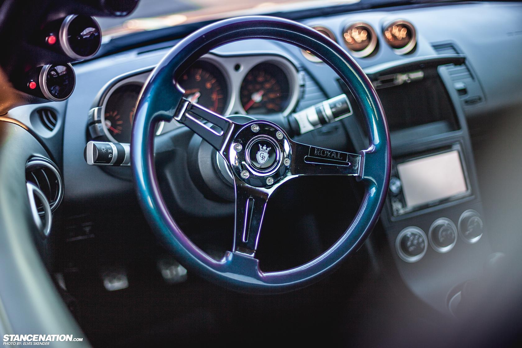 Slammed U0026 Stanced Nissan 350Z On Luxury Abstract Wheels ...