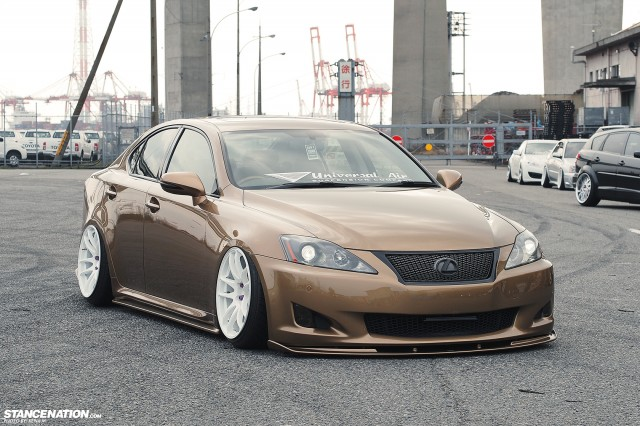 Slammed & Fitted Lexus IS from Japan (4)
