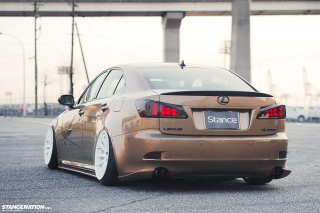 Slammed & Fitted Lexus IS from Japan (3)