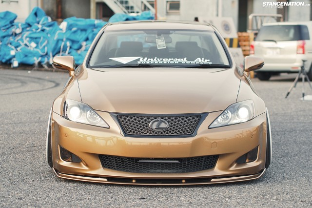 Slammed &amp; Fitted Lexus IS from Japan (2)