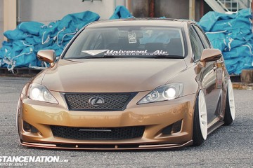 Slammed & Fitted Lexus IS from Japan (6)