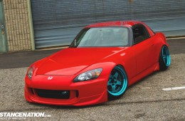 Flush Aggressive Fitment Honda S2000 (13)
