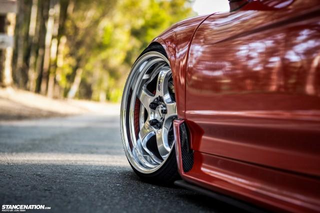 Flush Stanced Acura Honda NSX (7)