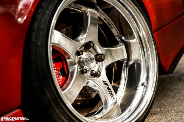 Flush Stanced Acura Honda NSX (6)