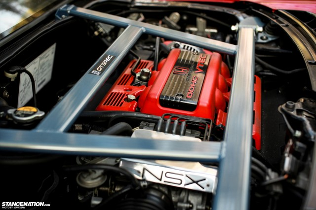 Flush Stanced Acura Honda NSX (18)