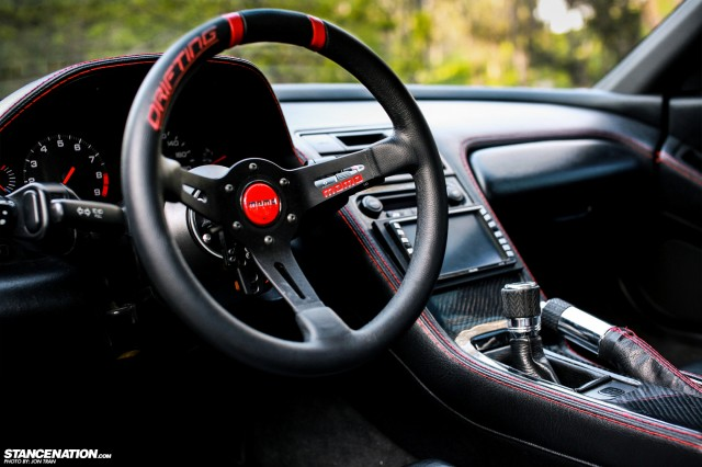 Flush Stanced Acura Honda NSX (17)