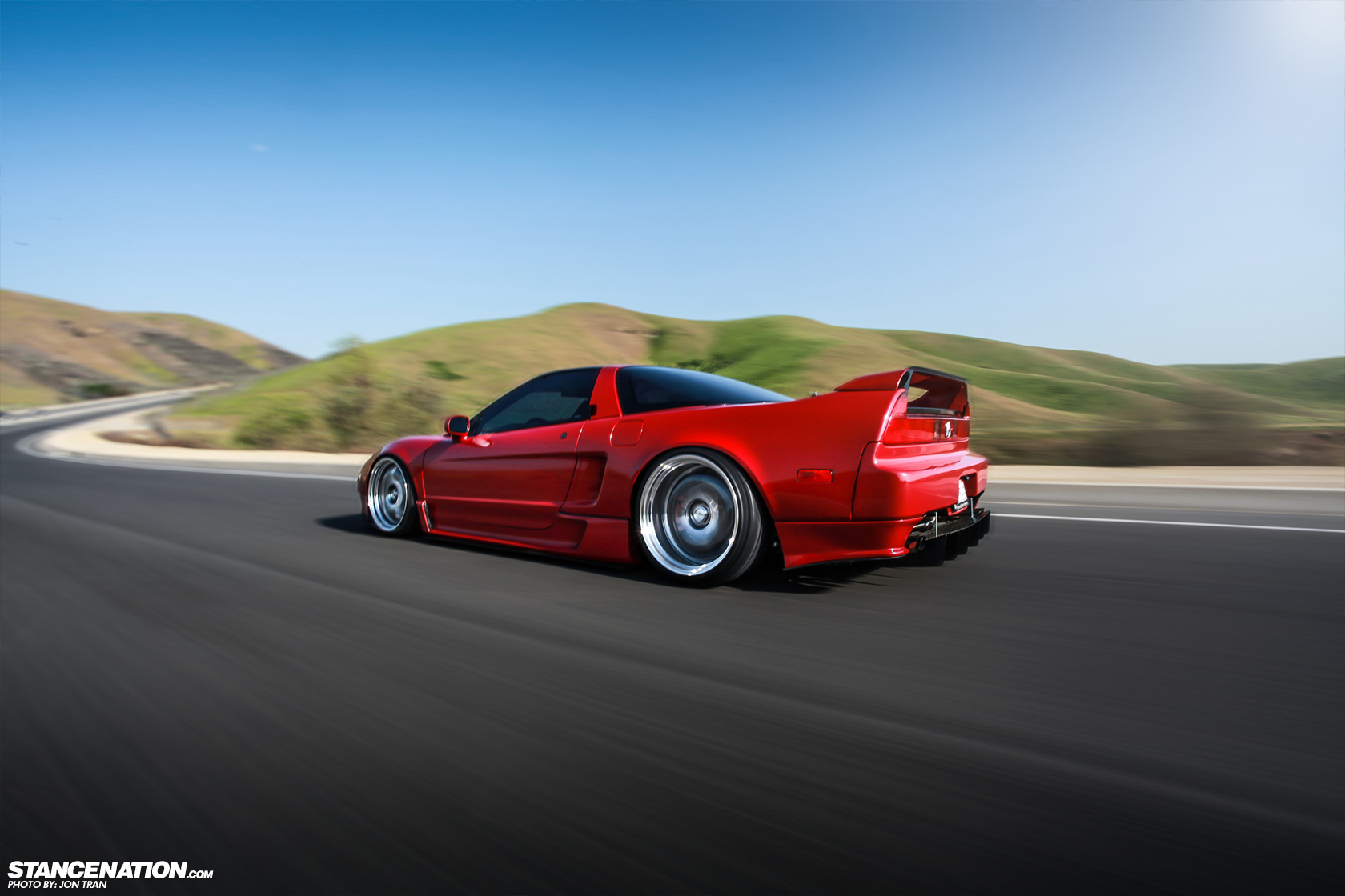 Acura NSX Stanced