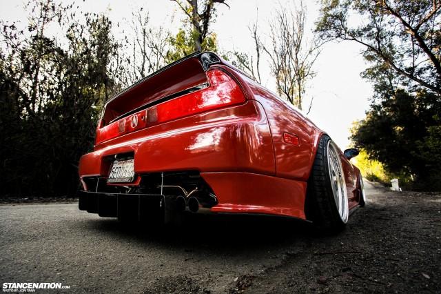 Flush Stanced Acura Honda NSX (15)