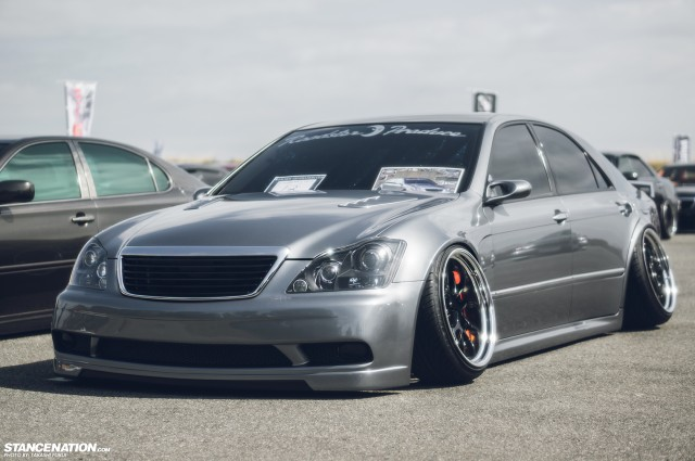 Widebody Custom VIP Toyota Crown (8)