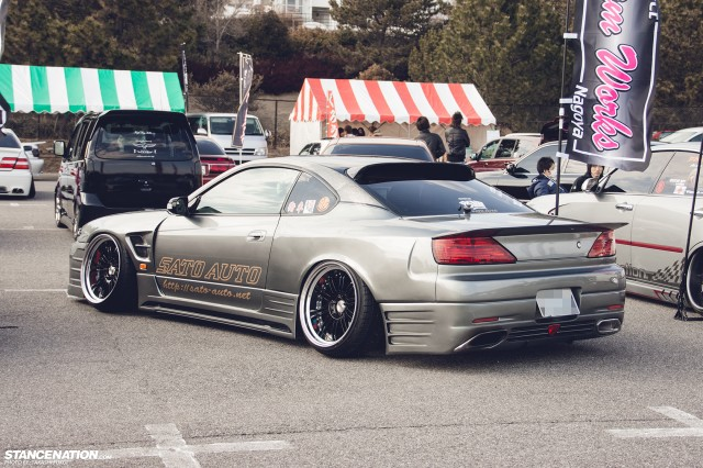Stanced Silvia Nissan S15 (3)
