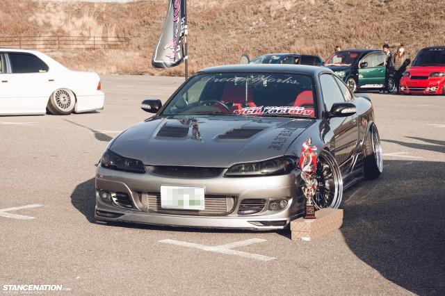 Stanced Silvia Nissan S15 (5)