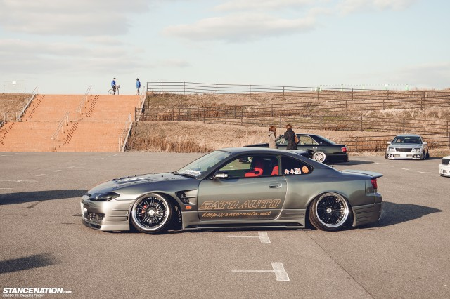 Stanced Silvia Nissan S15 (9)