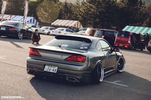 Stanced Silvia Nissan S15 (11)