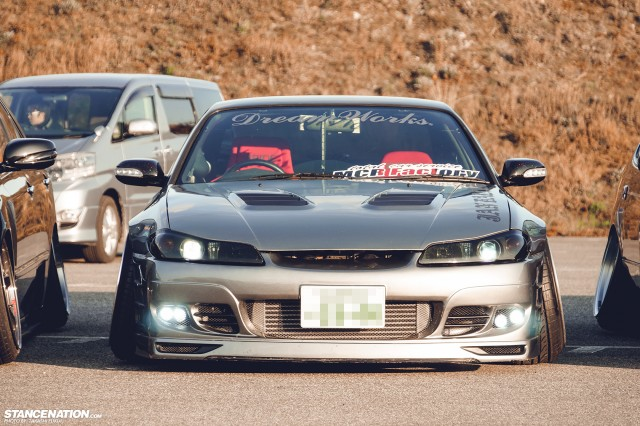 Stanced Silvia Nissan S15 (6)
