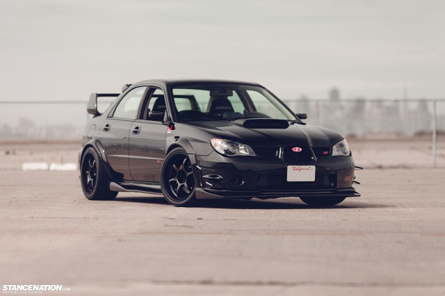 Wide Fast Subaru STI Bay Area (18)