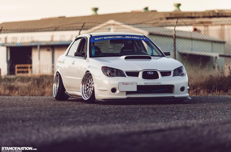Slammed Flush Subaru STI (20)