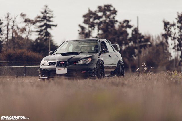 Wide Fast Subaru STI Bay Area (8)