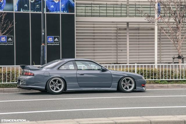 Slammed Japanese Nissan Silvia S14 (18)