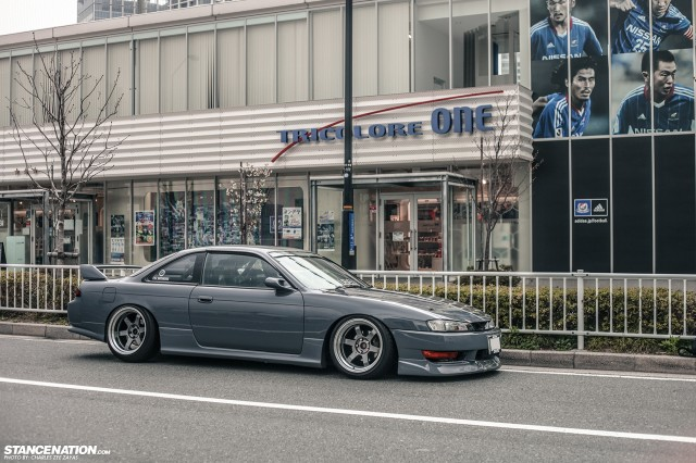 Slammed Japanese Nissan Silvia S14 (14)
