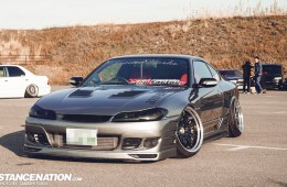 Stanced Silvia Nissan S15 (13)