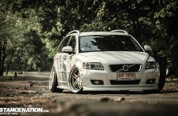 Stanced Flush Volvo V50 Wagon (16)