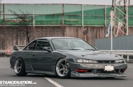 Slammed Japanese Nissan Silvia S14 (1)