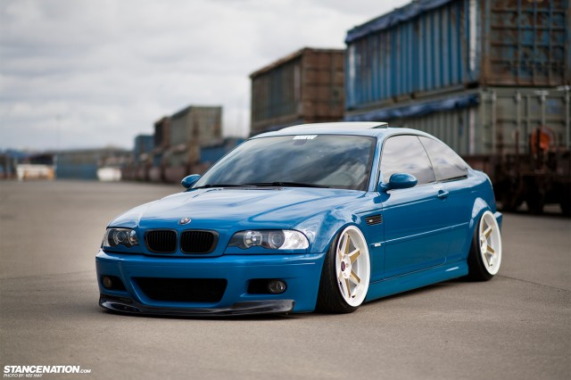Slammed Flush BMW M3 E46 (1)