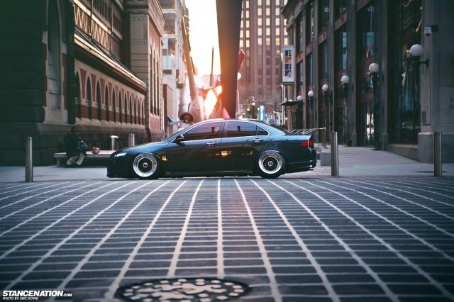 Slammed Static Acura TSX (5)