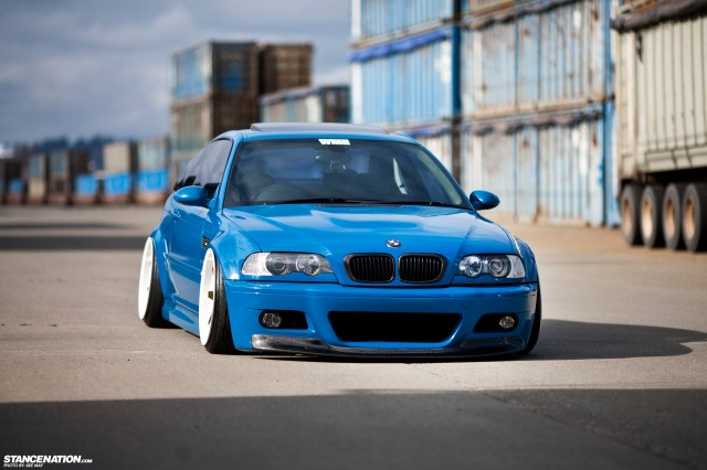 Slammed Flush BMW M3 E46 (2)